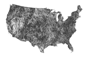 Wind Map Gallery - Us current wind map